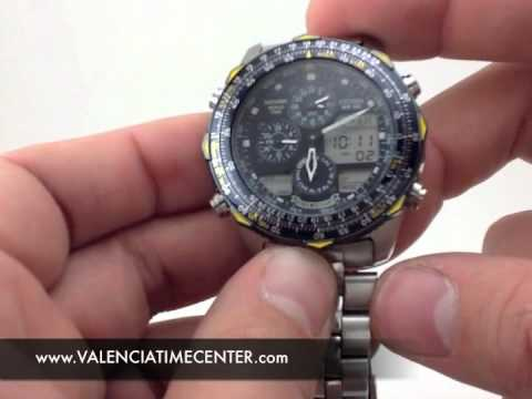 837e47978b7 How to set Citizen Navihawk 1st Gen. Caliber C300 by Valencia Time Center