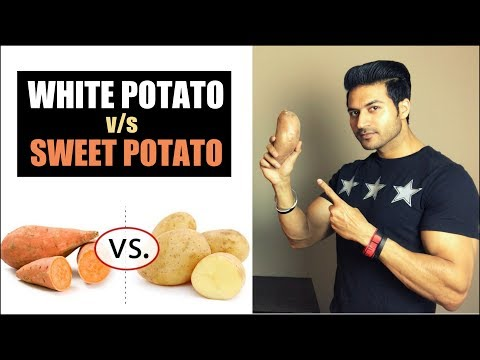 WHITE Potato v/s SWEET Potato - Which is Better ? | Explanation by Guru Mann