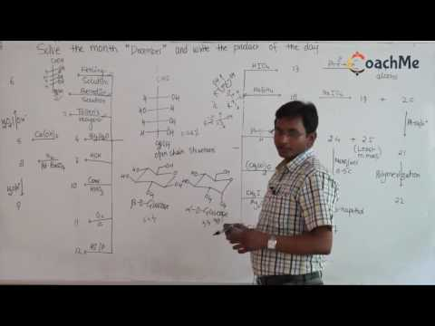 Mixing of chemical reactions from Glucose