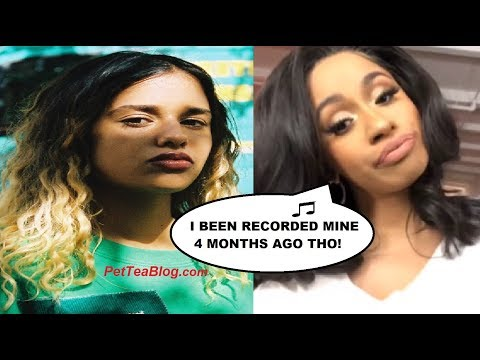 """Cardi B Responds to Stealing Bartier Cardi from Tommy Genesis """"I did mines 1st 4 Months ago!"""""""