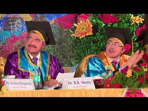 Part - 1 - 22nd Graduation Day 2016 - Brindavan College