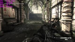 Call Of Duty Ghosts 4K GTX 980 FPS Performance Test Part 2