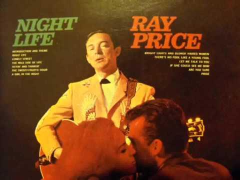 Ray Price - Night Life (with lyrics)