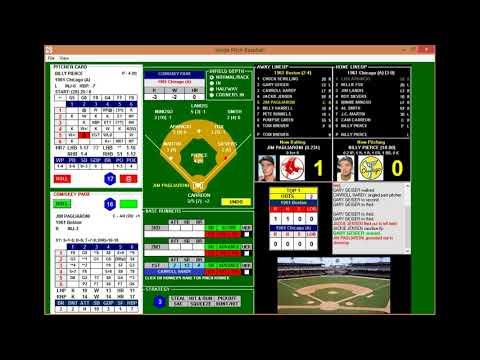 CARL YASTRZEMSKI YAZ Career Replay 1961 Game #7 @ Chicago White Sox (3 of 4)  IP Baseball
