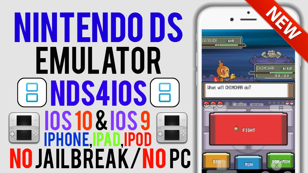 nds emulator for ios 9.3 5