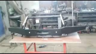 видео Передний силовой бампер OJ 02.007.01