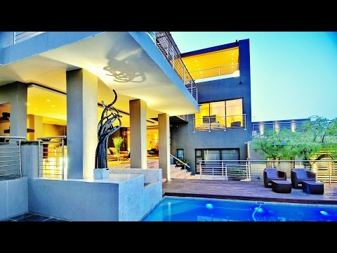 Spectacular Vews & Stunning Interior Luxury Home near Johannesburg, South Africa