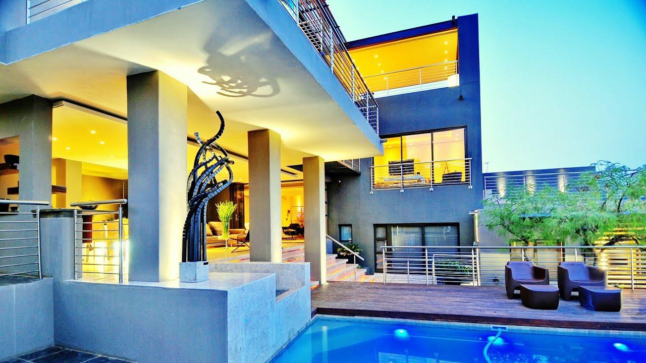 Spectacular Vews Stunning Interior Luxury Home Near Johannesburg South Africa