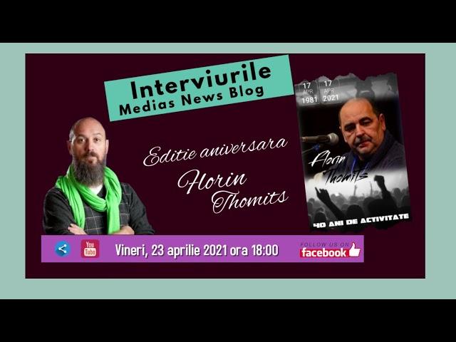Promo:  Florin Thomits la Interviurile Medias News Blog
