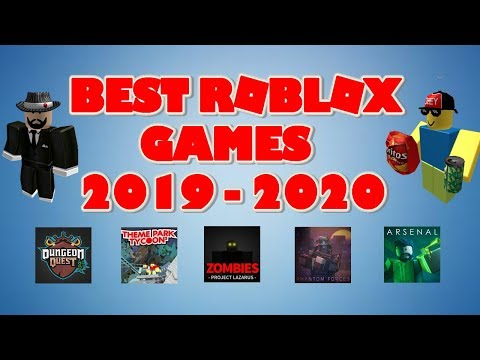 TOP 10 ROBLOX GAMES 2019 - 2020 !