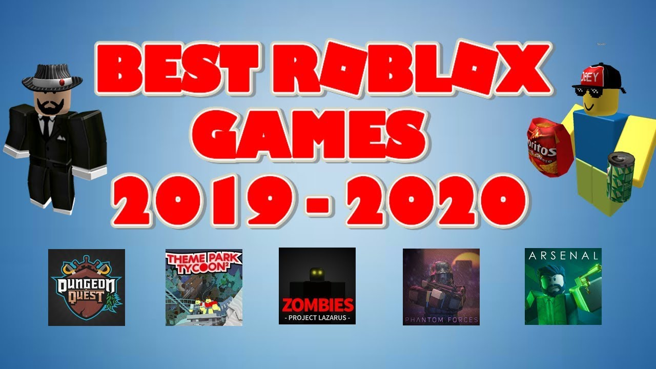 Best Roblox Games 2020 TOP 10 ROBLOX GAMES 2019   2020 !   YouTube