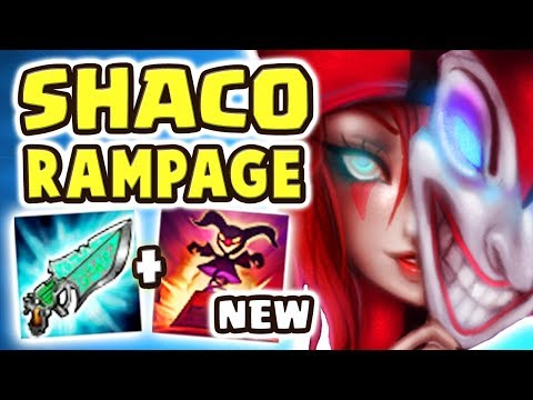 NEW SHACO REWORK MADE HIM A MONSTER!!! AP SHACO JUNGLE DAMAGE IS INSANE | TWO SHIV DESTRUCTION