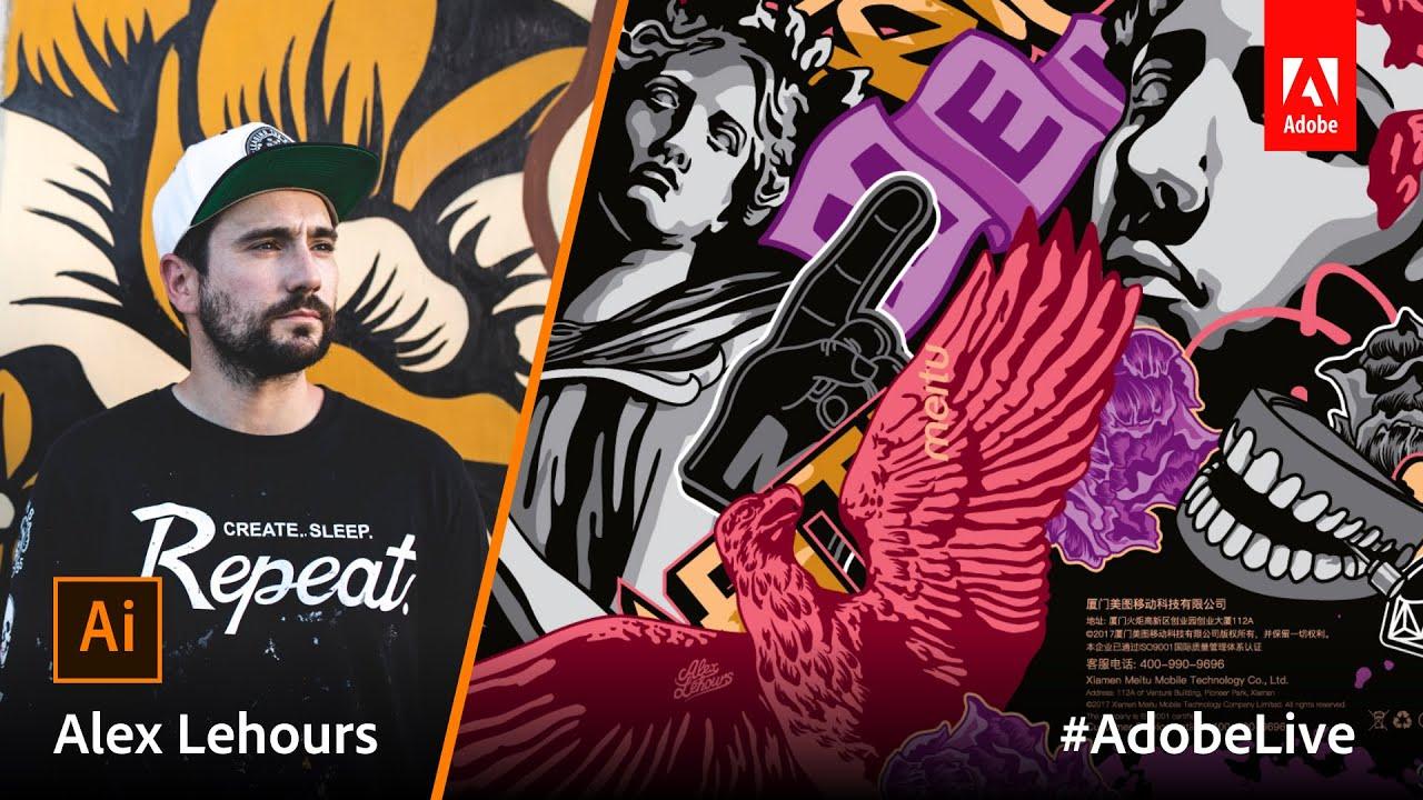 DOWNLOAD: Adobe Live Episode 28: Illustration With Alex Lehours Mp4