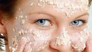 Идеальная ОВСЯНАЯ МАСКА для ЛИЦА улучшит цвет лица уменьшит морщины и кожные высыпания