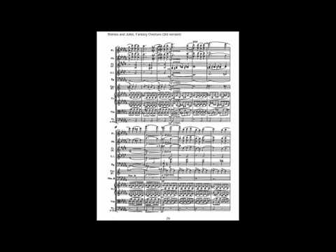 Tchaikovsky  Romeo and Juliet fantasy overture sheet music
