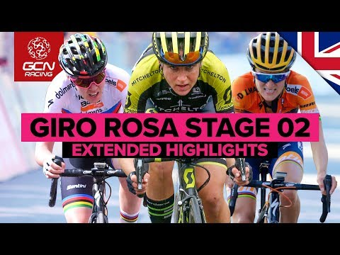 Extended Highlights | Giro Rosa 2019 Stage 2: Viù-Viù