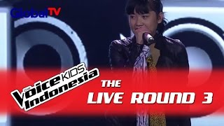 "Fahira ""I Hate Myself For Loving You"" I The Live Rounds I The Voice Kids Indonesia GlobalTV 2016"