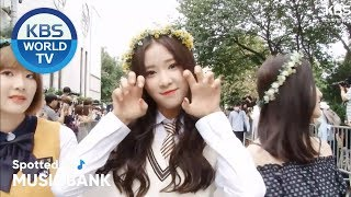 [Spotted at Music bank] 뮤직뱅크 출근길- SUNMI, GWSN, NCT DREAM, SoRi, NORAZO, NewKidd, etc [2018.09.14]