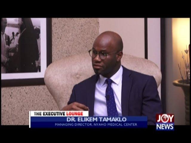 Dr. Elikem Tamaklo - The Executive Lounge on JoyNews (20-11-18)