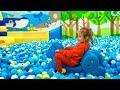 Funny kids and Kidzoona Indoor Playground Fun Playtime