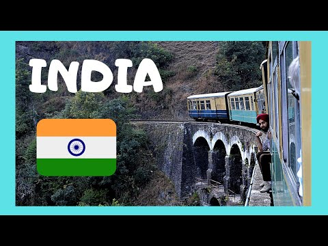 INDIA, TRAIN from JAIPUR approaching DELHI, incredible images