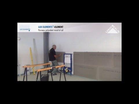 Monter Des Panneaux Prêts à Carreler Lux Elements