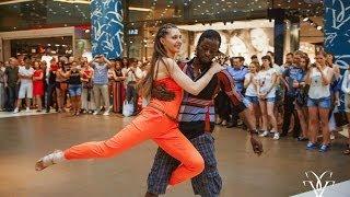 �������� ���� Kizomba ( кизомба ) , Тьерри Деа и Света Кашадцких, студия танцев Malecon ������