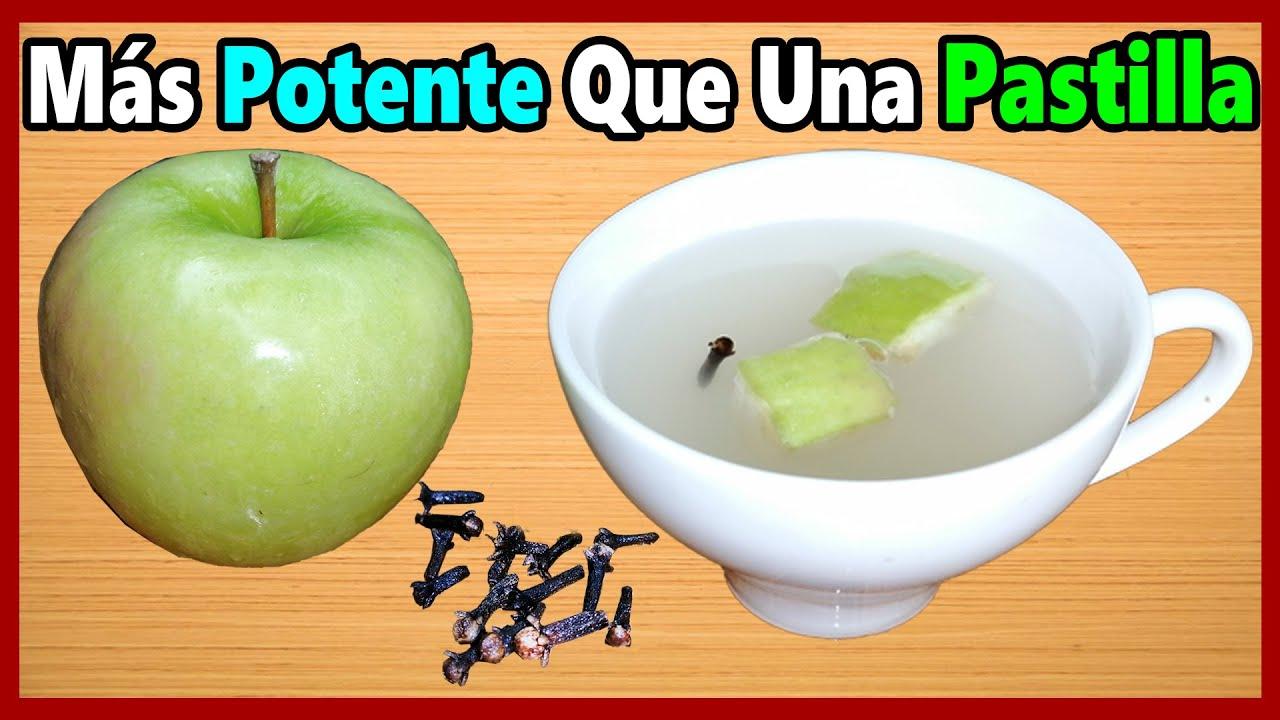 que propiedades curativas tiene la manzana verde