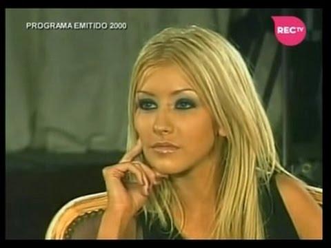 "Christina Aguilera - Exclusive Interview ""Viva El Lunes"" Chile (2000)"