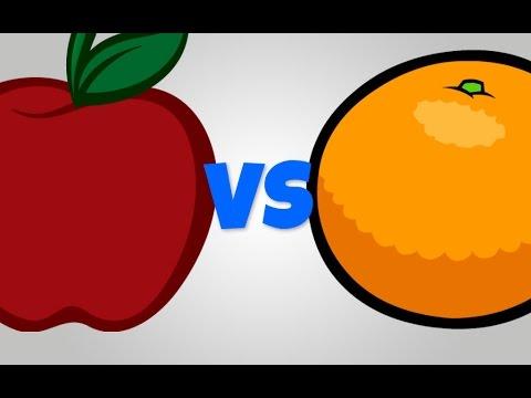 Apples And Oranges Clip Art