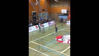 2. Basketball Bundesliga  // BG Leitershofen/Stadtbergen - Frankfurt Skyliners // Dominik Veney Dunk