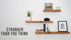 Easy DIY Floating shelves | DIY Creators