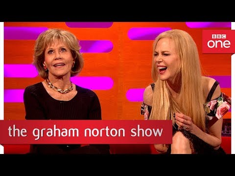 Download Youtube: Jane Fonda's reunion with Robert Redford  - The Graham Norton Show: 2017 - BBC One