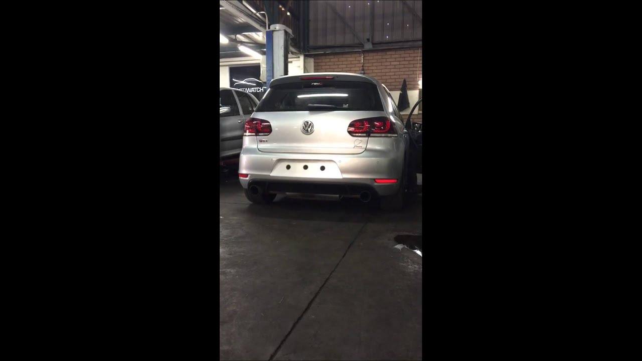 Attrayant Vw Golf GTi Mk6 Revo Stage 2 Backfire And Crackling