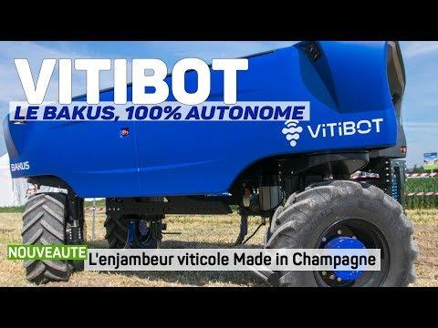 VITIBOT Bakus : Le Robot Autonome Viticole Made In Champagne