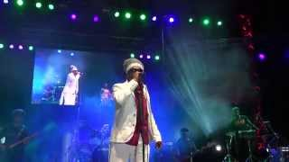 Michael Rose whole show Reggae on the River Aug 1 2014 with Sly and Robbie