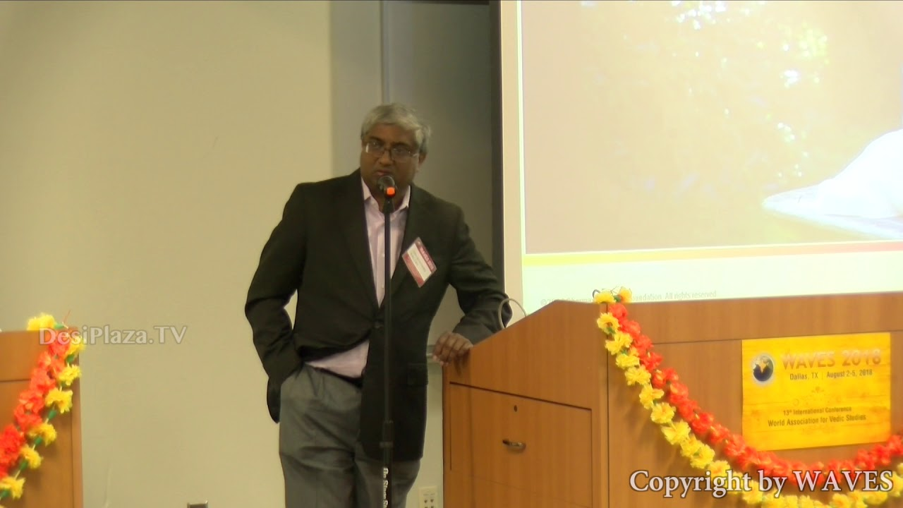 Mr Kalyan Viswanathan's talk on 'A New Paradigm in Hindu Studies' at WAVES  Dallas, Texas - 2018.