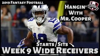 2019 Fantasy Football Advice - Week 9 Wide Receivers - Start or Sit? Every Match Up