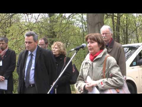 Commemoration at Mittelbau-Dora Memorial