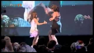 لا يفوتك رقص طفلة أفغانية قمة الرووعة