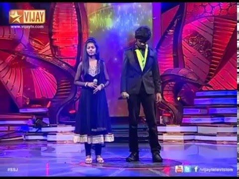 "Priyanka sings ""Sundari Kannal Oru Sethi"". Link to full song in the description.."