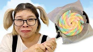 Chảo Kẹo Cuộn Tròn ❤Susi kids TV❤