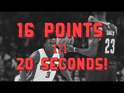 16 POINTS in 20 Seconds! (Actual Footage) Stanley Johnson Drops 86!
