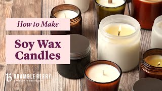 How to Make Soy Wax Candles - Tips ...