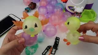 Balon Makinesinde Şişirilmiş Balonlardan Şekil Yapma Challenge Bidünya Oyuncak