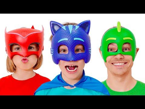 Макс и смешные истории про маски