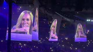 Carrie Underwood sings Temporary Home & See You Again!