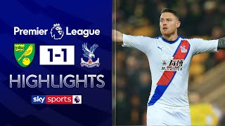 Wickham rescues late point for Palace! | Norwich 1-1 Crystal Palace | Premier League Highlights