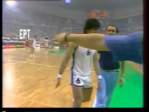 Hellas Russia 103-101 EUROBASKET final 1987 athens greece
