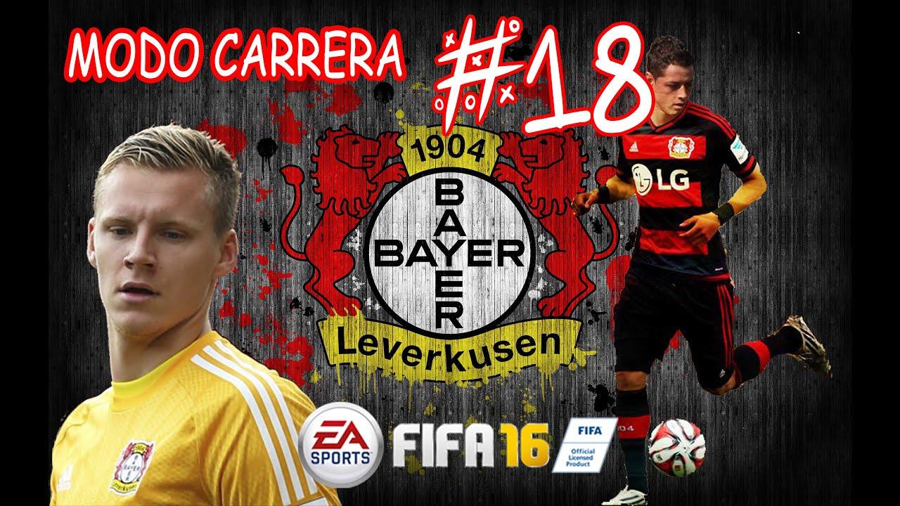 FIFA 16: Modo Carrera Bayer Leverkusen #18- FINAAAL de Champions